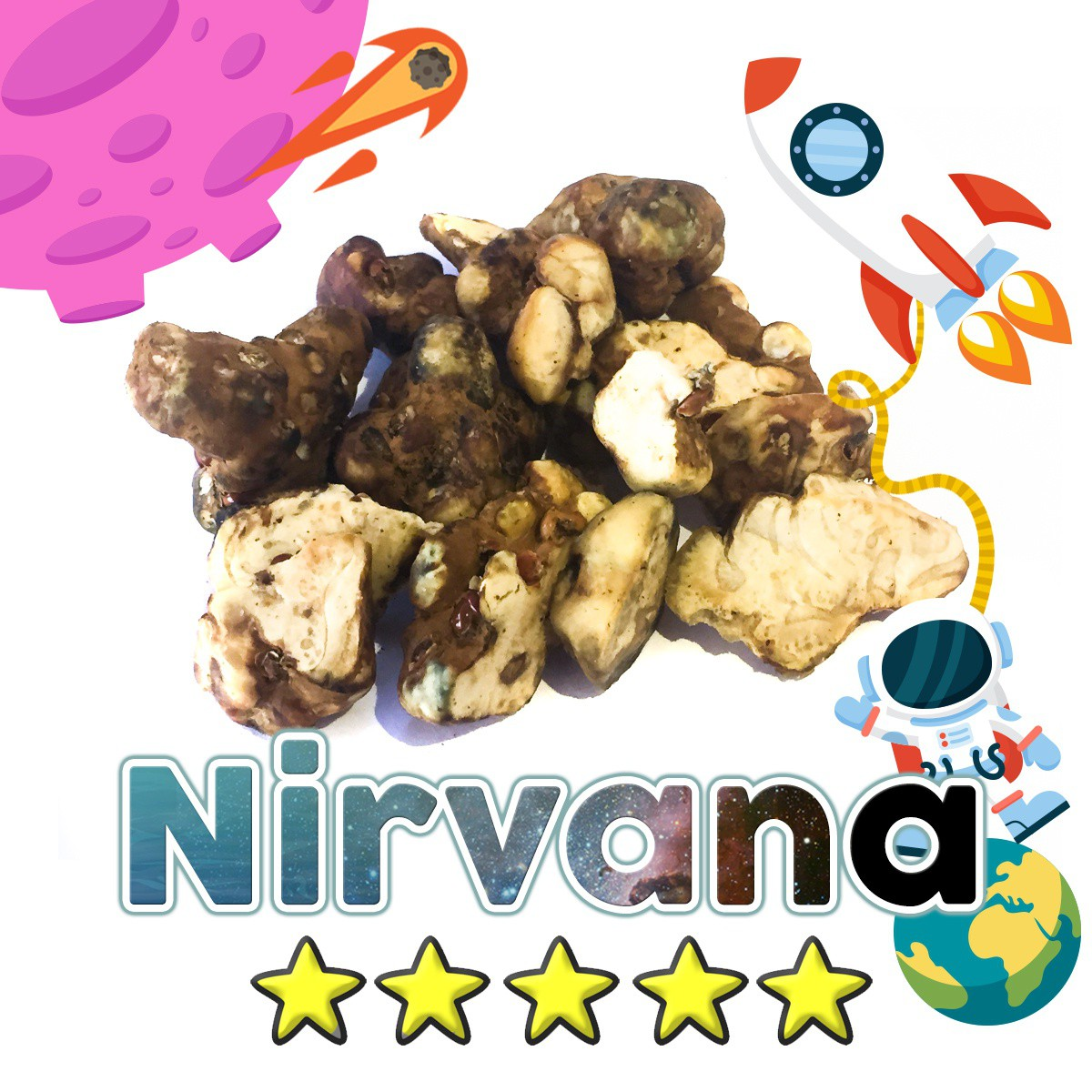 Budget Truffles | Psilocybe Nirvana € 0.00 Magic Truffles